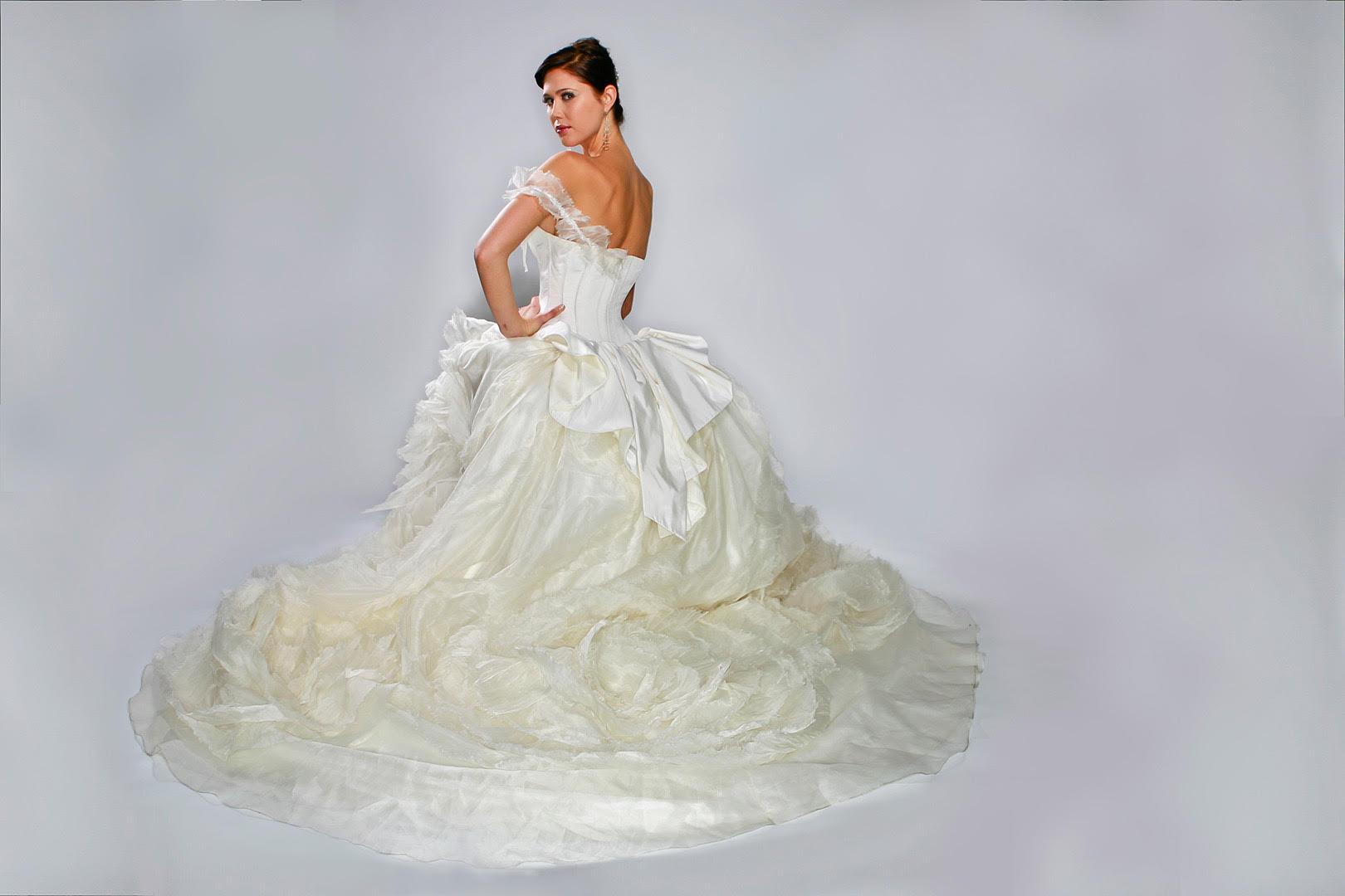French Designer – Gilles Montezin's Bridal